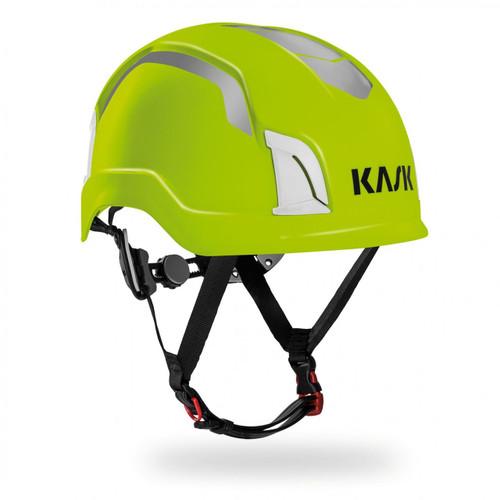 KASK WHE00032.224 Zenith Hi-Viz Safety Helmet Lime Fluo Standard