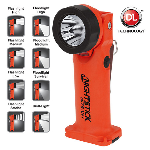 Nightstick XPP-5566RX INTRANT Intrinsically Safe Angle Lights Red