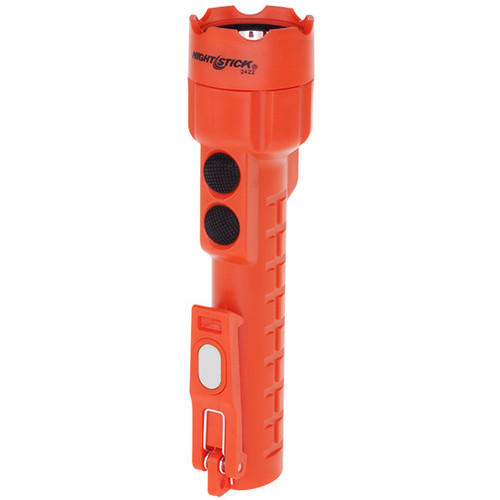 Bayco NSP-2422R Dual-Light Red Flashlight with Dual Magnets Each