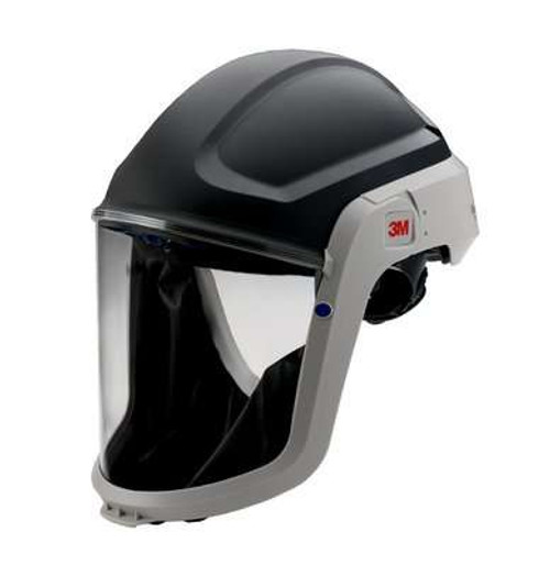 3M M-307 Versaflo Hard Hat Assembly with Premium Visor and Faceseal