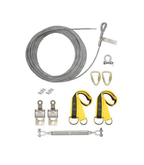 Falltech 60280A Temporary Cable HLL System w/ Pass-through Anchors