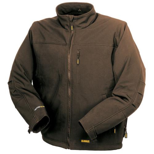DeWalt DCHJ060ATB Heated Soft Shell Work Jacket - Tobacco