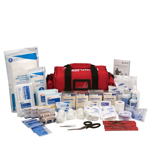 First Aid Kit 520-FR First Responder Kit Large 158 Piece