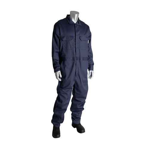 PIP 385-FRSC AR/FR Dual Certified Coverall with Zipper Closure - 8.5 Cal/cm2