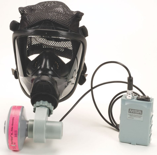 MSA 10095183 Advantage 3100 PAPR w/Facepiece L-Rubber Head Harness