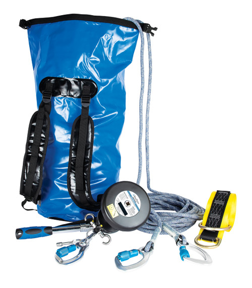 Falltech Rescue and Descent Kit UniDrive System w/ Storage Bag