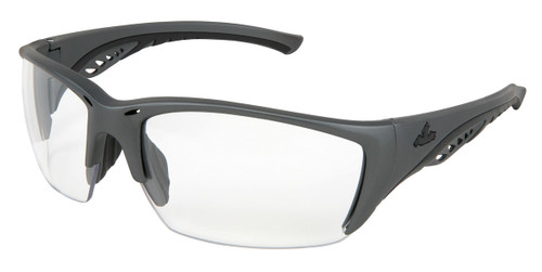 MCR UD310PF UD3 Series Gun Metal Color Frame Black TPR Clear MAX6 lens (Each)