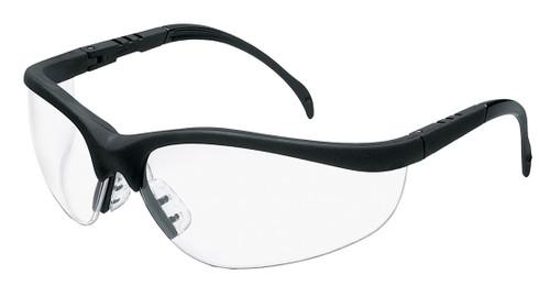 MCR KD110 Klondike KD1 Matte Black Finish Frame Clear Lens (Dozen)