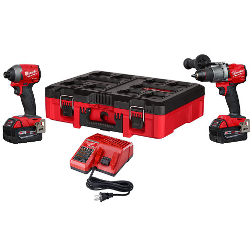 Milwaukee 2997-22PO Fuel 2-Tool Combo Kit with Packout M18