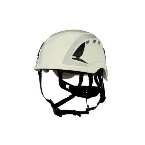 3M X5001VX-ANSI SecureFit Safety Helmet ANSI Vented and Reflective