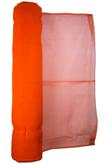 Guardian 70001 Orange Vertical Debris Netting 4' X 150'