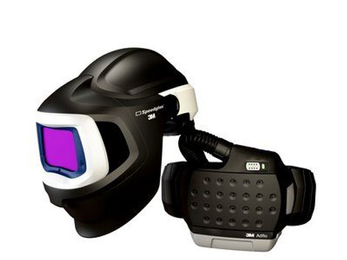 3M 37-1101-30iSW Adflo PAPR Speedglas Welding Helmet 9100 MP