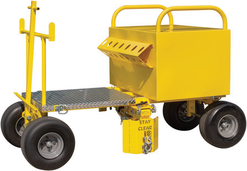 Tie Down Penetrator PRO System Mobile Fall Protection Cart