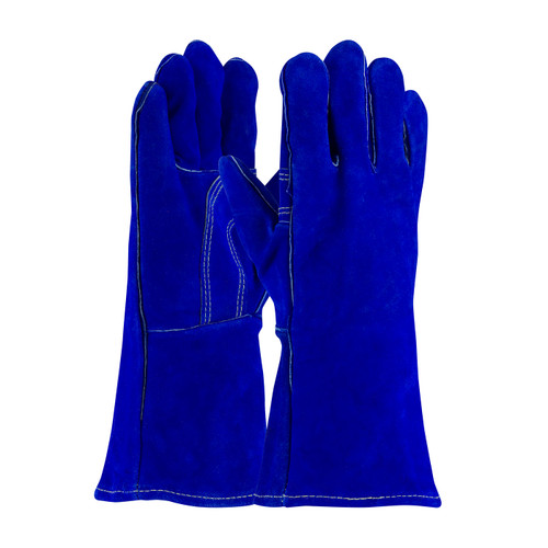 PIP 73-7007 Split Cowhide Leather Welder's Glove with Cotton Liner and Kevlar Stitching
