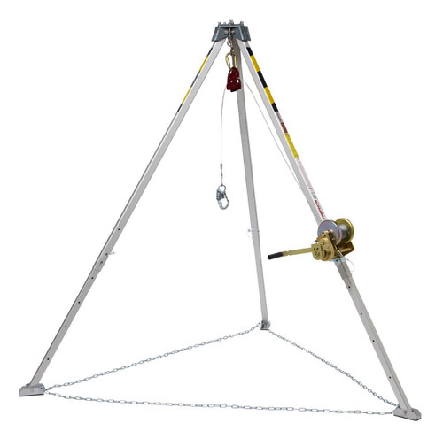 3M Protecta PRO 8' Aluminum Tripod Kit with 50' Winch