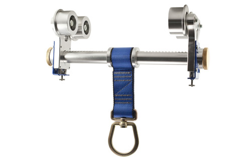 """Frontline Aluminum Beam Trolley Anchor for 3"""" - 10"""" Wide I-Beams"""