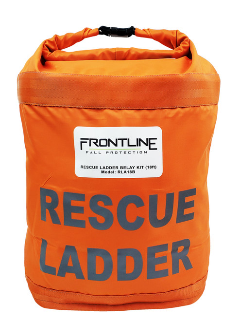 Frontline Rescue 18' Ladder Kit with Pulley System