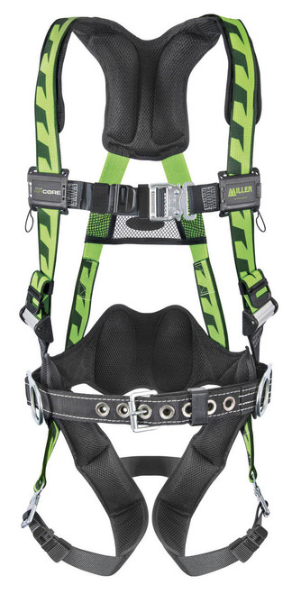 Miller Air Core Harness with Quick Connect - Working Belt Included