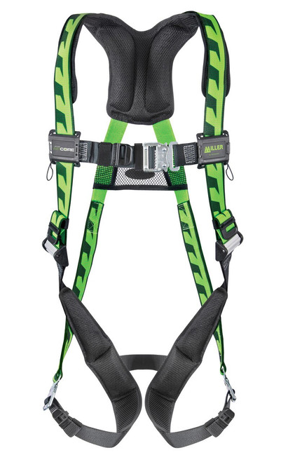 Miller Air Core Harness with Quick Connect Back D-Ring