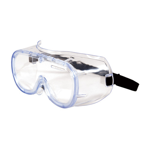 PIP 248-5290-300B Non-Vented Goggle with Clear Blue Body Clear Lens