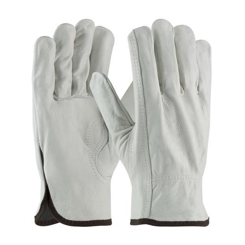 PIP 68-163 Regular Grade Top Grain Cowhide Leather Drivers Gloves