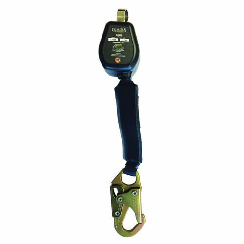 Guardian 32000 Web SRL Steel Snap Hook Includes Carabiner 6 Ft