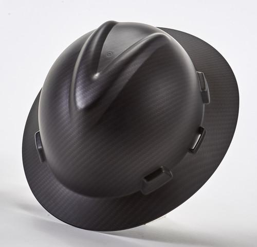 MSA Sport Carbon Fiber V-Gard Hydro Dip Hard Hat