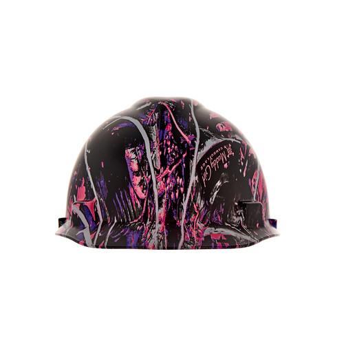 MSA 10204770 Muddy Girl V-Gard Hydro Dip Hard Hat Cap Style