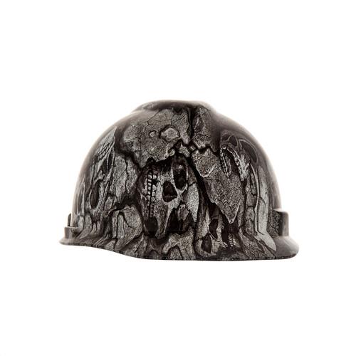 MSA 10204778 Devils Kanyon V-Gard Hydro Dip Hard Hat Cap Style