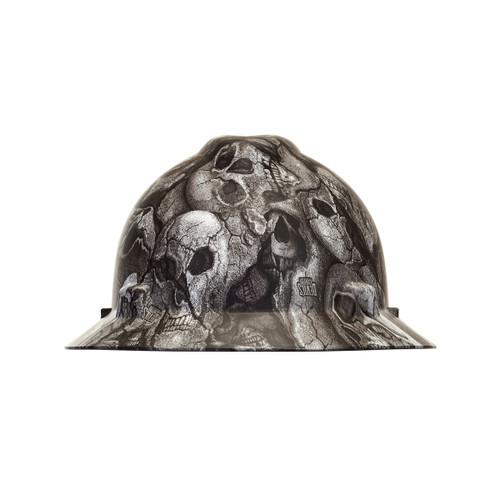 MSA 10204787 Devils Kanyon V-Gard Hydro Dip Hard Hat with Fast trac III