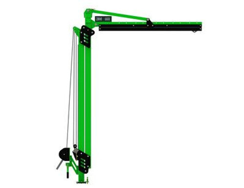 3M 8530874 M100 Modular Jib Adjustable Height Mast Anchor 10-15 ft Height
