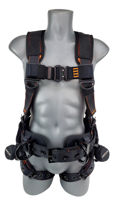 Frontline Combat Lite Full Body Harness all Aluminum Hardware and Suspension Trauma Straps
