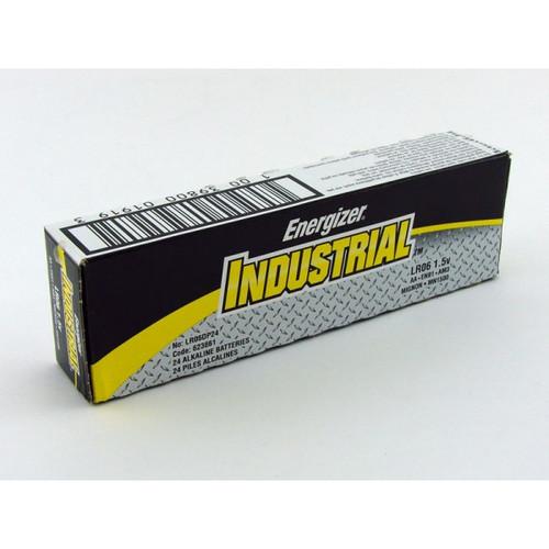 Energizer EN91 Industrial MAX AA Alkaline Batteries (24/Pack)