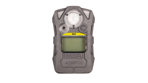 MSA 10154076 ALTAIR 2X Single Gas Detector H2S-LC (5, 10)