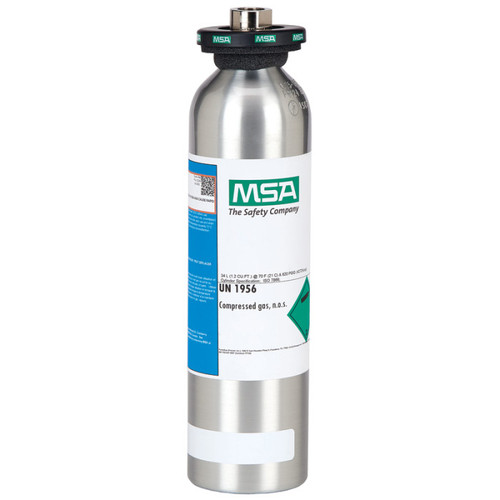 MSA Calibration Gas Cylinder ALTAIR 2X (60ppm CO, 20ppm H2S)