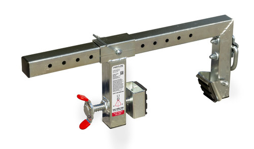 "Frontline Parapet Adjustable Non-Penetrating  16"" Anchor"