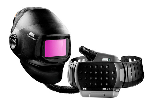 3M Speedglas Heavy-Duty Welding Helmet G5-01 w/ADF G5-01 and 3M Adflo High-Altitude PAPR Assembly 46-1101-30i