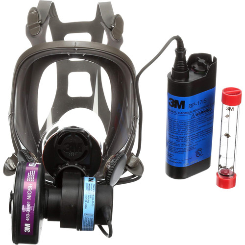 3M 6000 Series Face-Mounted PAPR Respirator