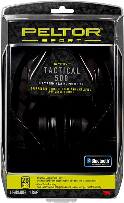 3M Peltor TAC500-OTH Sport Tactical 500 Electronic Hearing Protector