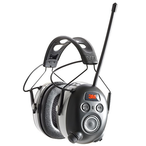 3M 90542H1-DC-PS WorkTunes Connect + AM/FM Hearing Protector w/ Bluetooth