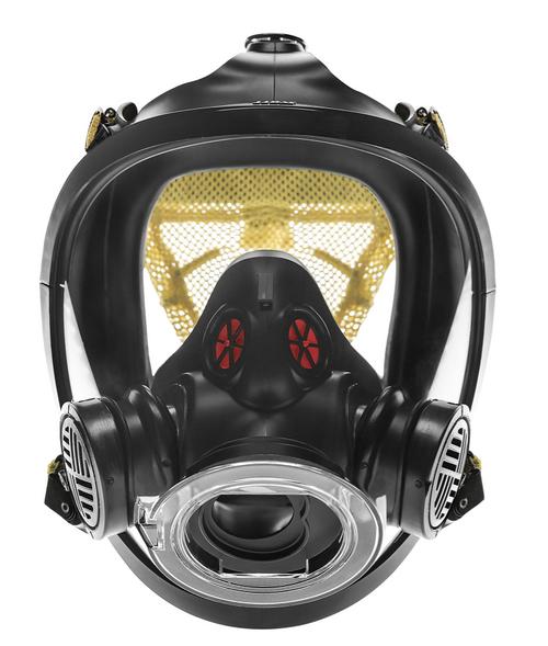 3M Scott AV-3000 HT Facepiece with Kevlar Head Harness 4-Strap