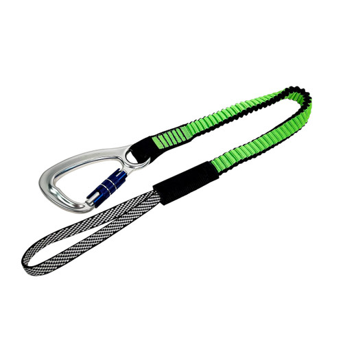 Frontline TLS30 ToolGrip Elastic Tool Tether 30 lbs with Self-locking Aluminum Carabiner