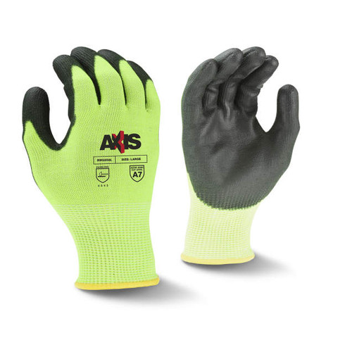 Radians RWG558 AXIS Cut Protection Level A7 PU Coated Glove (Each)