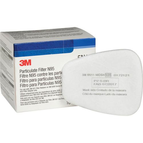3M 5N11 Particulate Filter N95 (Case/100 Each)