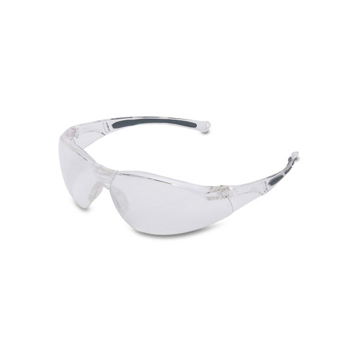 Honeywell Uvex A805 Gray Safety Glasses With Clear Anti-Fog Lens