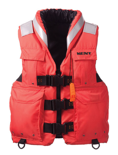 """Kent 150400-200-040-12 Search and Rescue """"SAR"""" Commercial Vest  (Large)"""