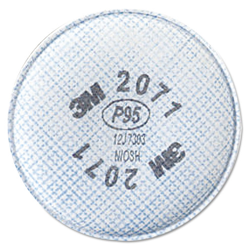 3M 2071 P95 Particulate Filter For 6000 and 7000 Series 2 Per Package