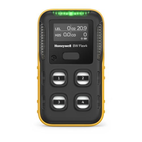 BW Flex Multi-Gas Monitor with Bluetooth (LEL, O2, H2S, CO)