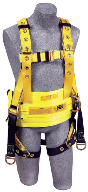 Pass-Thru Harness Connection Buckles Large Work Positioning Rings Yellow 3M DBI-SALA 1000544 Derrick Tongue Buckle Belt