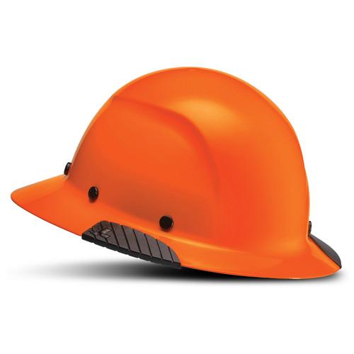 Lift Safety HDF-18OG DAX Fiber Resin Full Brim Hard Hat Hi-Viz